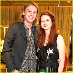 Bonnie Wright: Miu Miu Launch with Jamie Campbell-Bower