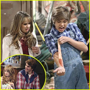 Cole Sprouse vs Hutch Dano for Debby Ryan's Heart: Round Two!