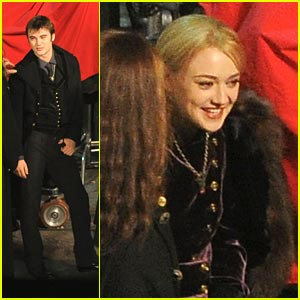 Dakota Fanning: Breaking Dawn Set Pics!