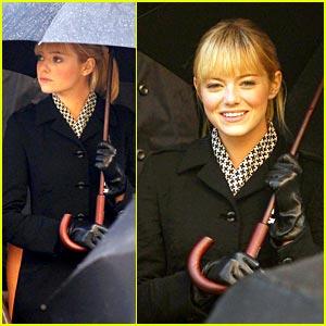 Emma Stone in Spider-Man -- FIRST LOOK!