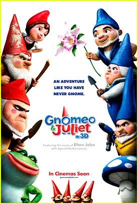 New 'Gnomeo & Juliet' Poster -- JJJ Exclusive!