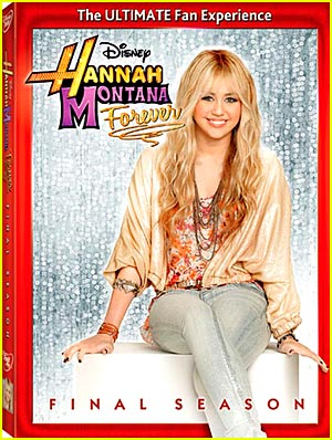 Miley Cyrus: Hannah Montana The Final Season DVD!