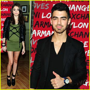 Joe Jonas & Sarah Hyland: Nylon Nightlife!