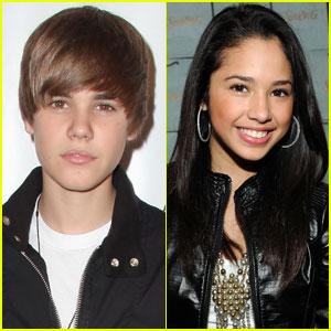 Justin Bieber Dishes on Kissing Jasmine V