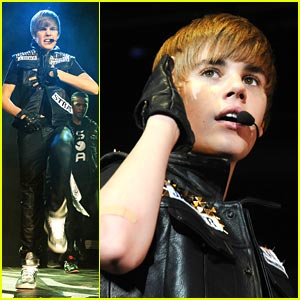 Justin Bieber: Q102 Jingle Ball in Jersey!