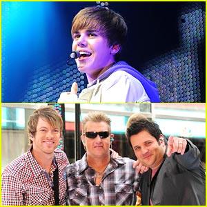 Justin Bieber: New Music with Rascal Flatts!