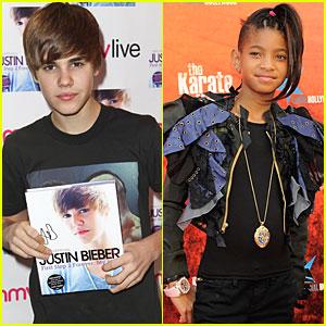 Willow Smith: European Tour with Justin Bieber!