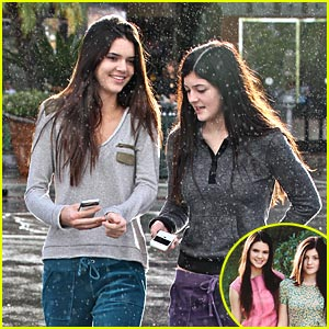 Kendall & Kylie Jenner: Teen Vogue Photo Shoot!