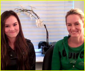 Madeline Carroll: Flipped Mom & Daughter Date Night!