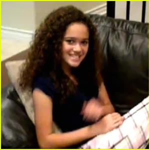Madison Pettis is a Slipper Fairy
