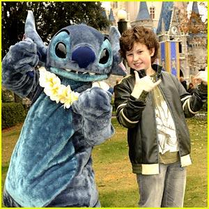 Nolan Gould & Stitch: Magic Kingdom Christmas!