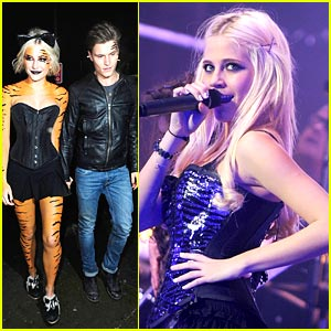 Pixie Lott Turns Into Tiger After Tour End