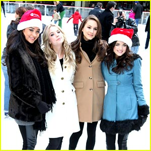 Pretty Little Liars: Rockefeller Center Ice Skaters!