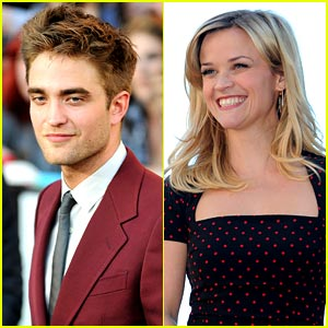 Reese Witherspoon on Robert Pattinson: 'He's Extraordinarily Attractive'