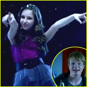 Ryan Newman & Adam Hicks: 'Happy Universal Holidays' Music Video!