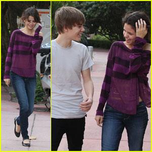 Justin Bieber & Selena Gomez: Miami Mates