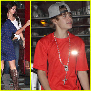 Selena Gomez Boards Justin Bieber's Tour Bus