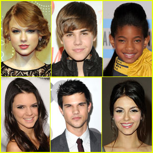 JustJaredJr.com's Most Popular Celebs 2010