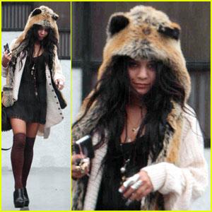 Vanessa Hudgens: Furry Foxy Lady