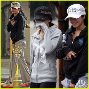Vanessa Hudgens Has Faith at the Gym
