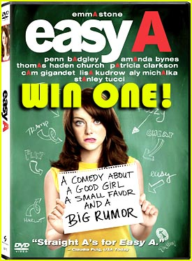 Win An 'Easy A' Prize Pack!