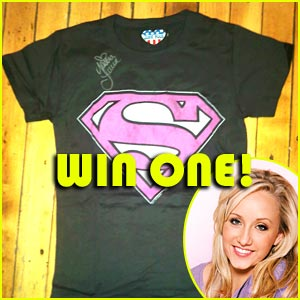 Win a Supergirl Tee Signed by Nastia Liukin!