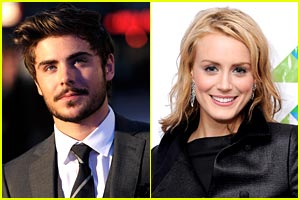 Zac Efron: 'Good Friends' with Taylor Schilling