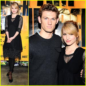 Alex Pettyfer & Dianna Agron are Hot Topics