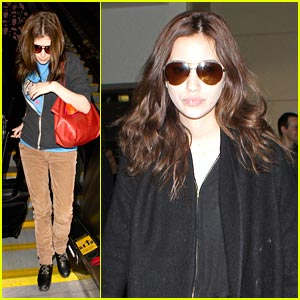 Anna Kendrick & Christian Serratos: LAX Ladies