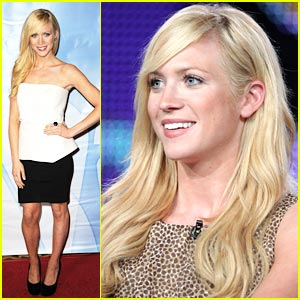 Brittany Snow: Harry's Law at TCAs!
