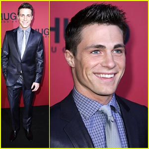 Colton Haynes: Hugo Boss in Berlin
