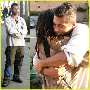 Corbin Bleu: 'Sugar' Hugs with Shenae Grimes!