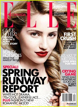 Dianna Agron: Kissing Always Comes First