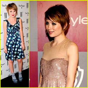 Emily Browning: InStyle Party Pretty