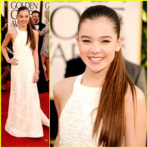 Hailee Steinfeld: Prabal Gurung Gorgeous at the Globes!