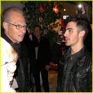 Joe Jonas: Sidewalk Chat with Larry King