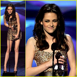 Kristen Stewart: Favorite Movie Actress at People's Choice!
