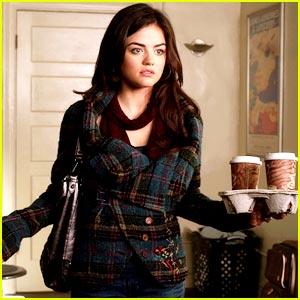 Lucy Hale: Get Aria's Cute Coat!