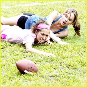 Meaghan Martin: Powder-Puff Football was Intense!