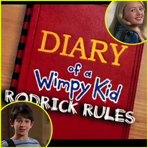 Zachary Gordon & Peyton List: 'Diary of A Wimpy Kid 2' Teaser!
