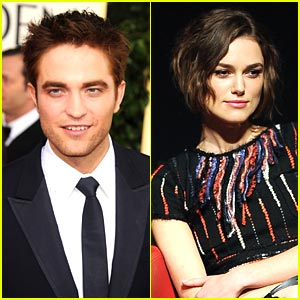 Robert Pattinson & Keira Knightley: 'Cosmopolis' Couple