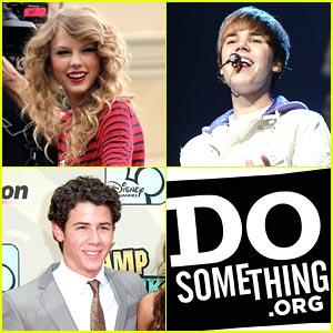 Taylor Swift, Nick Jonas & Justin Bieber Make DoSomething.org's Top 20!