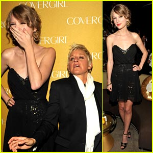 Taylor Swift: CoverGirl Anniversary Party!