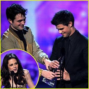 Kristen, Rob & Taylor: Favorite Movie & On-Screen Team!