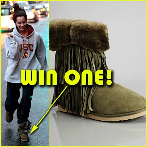 Win Ashley Tisdale's Koolaburra Boots!