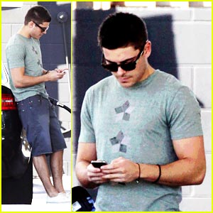 Zac Efron Gases Up
