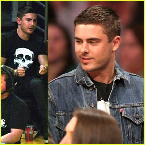 Zac Efron Cheers On The Lakers