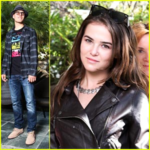 Zoey Deutch & Chris Zykla Celebrate Sundance