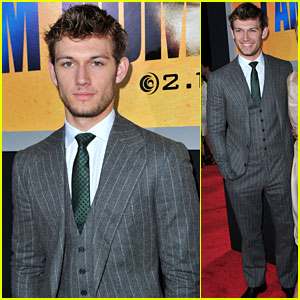 Alex Pettyfer: 'I Am Number Four' Premiere!