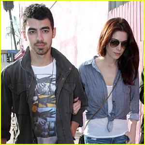 Ashley Greene & Joe Jonas Lunch in Los Angeles